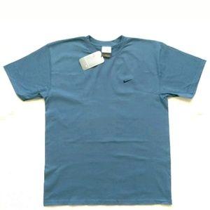 Vintage Nike 90s T Shirt Swoosh Logo Medium NWT